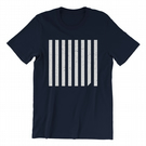 EXCEED - MNML Coll. - Minimalist Geometric Design on Unisex Tee