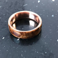 BentWood Copper ring