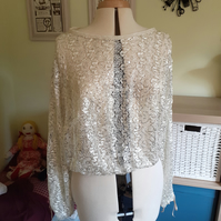 Sequin ladies top