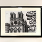 La Cathédrale Notre-Dame de Paris (Quality Prints in A4 Frame)