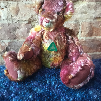 MoBair Hand Made Random Dyed Teddy Bear