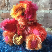 MoBair Teeny Tiney Mohair Teddy Bear