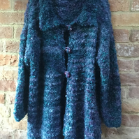 MoBair Double Bubble Mohair Cardigan