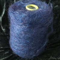Brushed DK Mohair Purple Blue