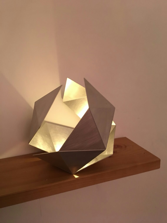 Icosahedron Tea light holder