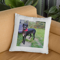 Your Photo on a soft Cushion