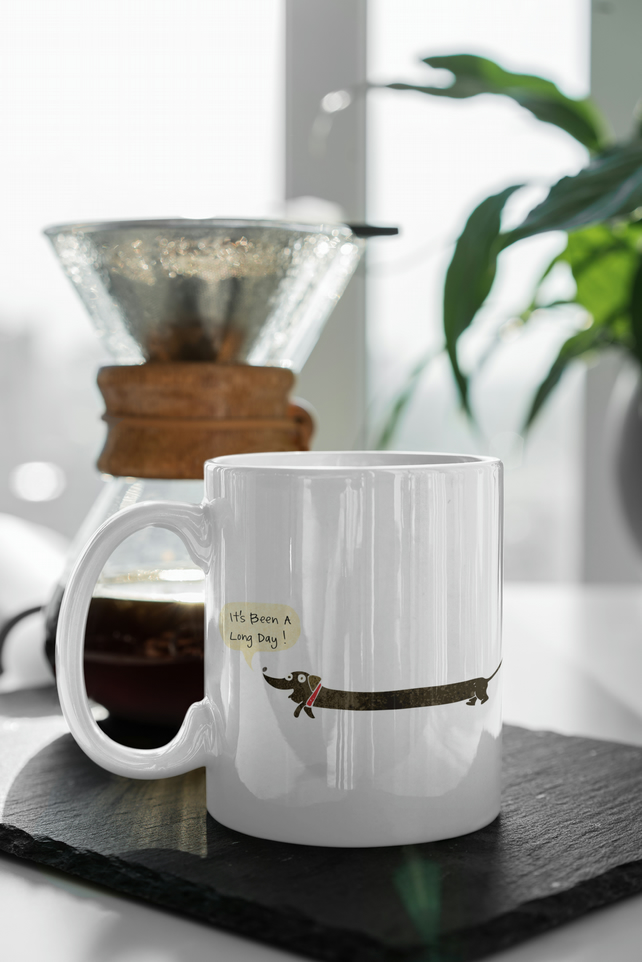 Long Day Sausage Dog Dachshund Mug