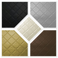 DIAMOND FAUX LEATHER LEATHERETTE VINYL UPHOLSTERY MATERIAL FABRIC HEAVY DUTY