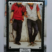 3D Luxury Handmade Card Any Occasion Skateboards Boys Teenagers Enjoy
