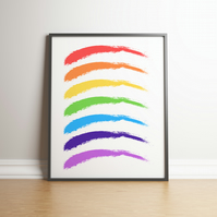 All The Colours Of The Rainbow - Digital Print