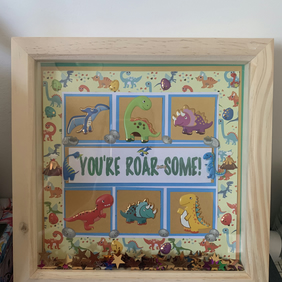 You're roarsome box frame