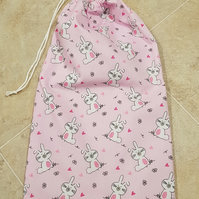 Drawstring Toy Bag