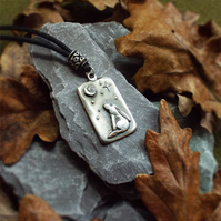 Moongazing Hare Pendant