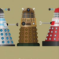 Doctor who dalek Limited Edition Art Print