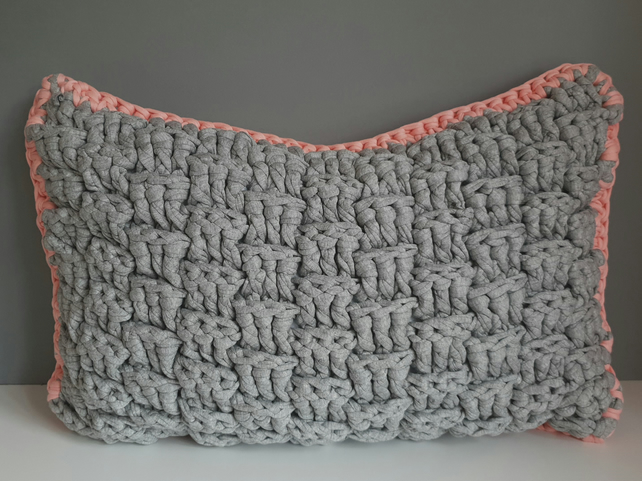 Crochet Cushion, Crochet Pillow, Scatter Cushion, Decorative Pillow,
