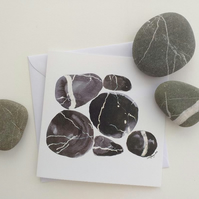 Pebbles Greetings Card