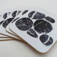 Pebbles coasters (pair)