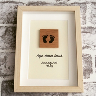 New Baby Personalised Picture Gift