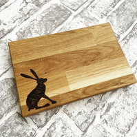 Small Hare Chopping Board