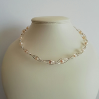 Dreamy Pearl Necklace. Gift For Her
