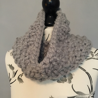 Hand Knitted Super Chunky Cowl Neckwarmer