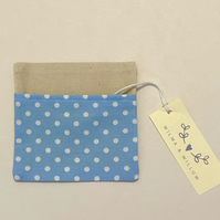 Washable face mask bag- pouch- storage