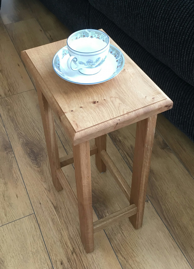 Solid Oak Coffee or Side Table