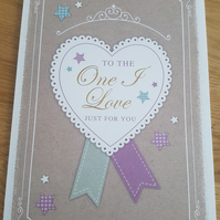 One i love - Friends and family collection - Birthday, Valentines, Anniversary