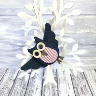 Hanging Flying Owl Decoration