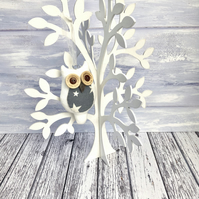 Perched Owl Decoration