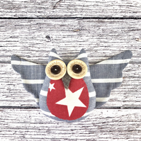Flying Owl Fridge Magnet