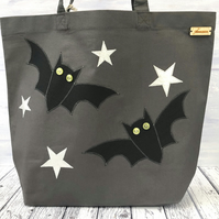 Organic Cotton Bat Tote