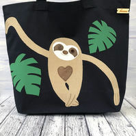 Sloth Tote in Organic Cotton