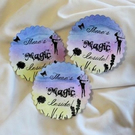 There's MAGIC Inside Colourful Fairy Stickers,Labels or Envelope Seals - 10