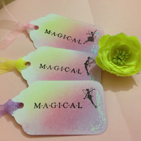 Magical Fairies Gift or Wedding Tree Tags, Set Of 10