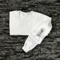 Doll sleeved sweatshirt