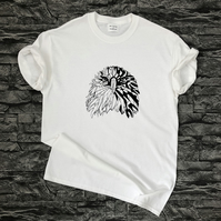 Geometric Eagle T-shirt