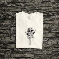 Skeleton Mermaid T shirt