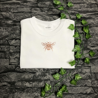 Custom Initial Vinyl Bee T-shirt