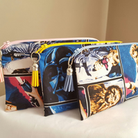 Star Wars, Zip Pouch, Travel Bag, Small Makeup Bag, Essential Pouch, Disney