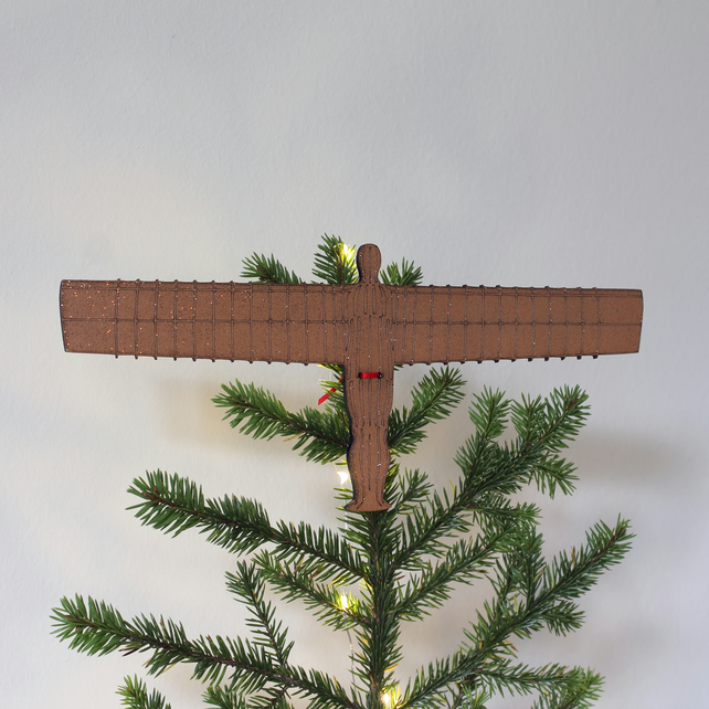 Angel of the North Tree Topper