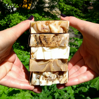 Buy 5 Handmade Soaps Get 1 Free, Soap Bundle, Natural Soap,Housewarming