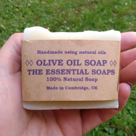 Olive Soap, Gift, Natural Soap, Skincare, Handmade, Palm Oil Free