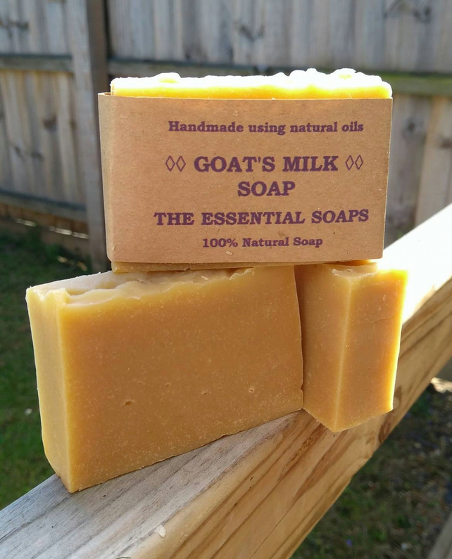 Goats Milk Soap, Eczema Soap, Natural, Unscented Soap, Sensitive Skin, Gift