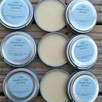 Organic Lemon & Cedarwood Natural Deodorant, Handmade, Eco Friendly, Vegan