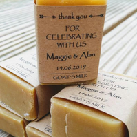 PERSONALISED SOAPS 25g, Wedding Favours, Guest House, Hen Party, Baby Shower