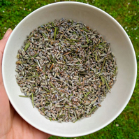 25-50-100 Grams of Dried Lavender, Loose Lavender, Lavender Buds, Natural, Relax