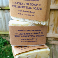 Lavender Soap, Natural, Calming Soap, Lavender, Hand Washing Soap, Gifts