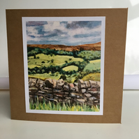 Greeting card Pateley Bridge