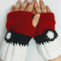 Children's pokemon pokeball gloves